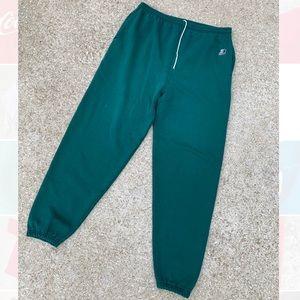 Vintage 90's Green Starter Jogger Sweatpants